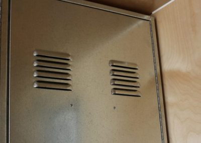 Feature Gallery BeigeMods image of vents on locker door